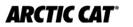 Arctic Cat ATV quad logo